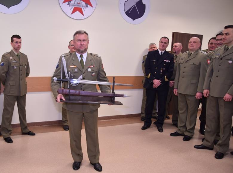 Batalion Ochrony Bazy w Redzikowie uroczyście pożegnał Zastępcę Dowódcy Batalionu - Szefa Sztabu, przechodzącego na wyższe stanowisko służbowe do innej