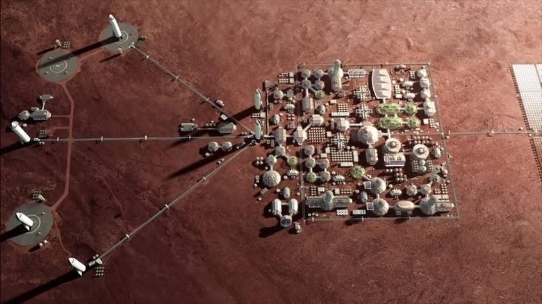 Wizyta człowieka na Marsie oraz stworzenie tam dla niego warunków do życia będzie możliwe.
