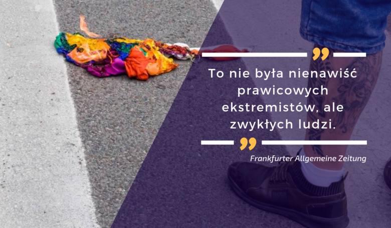 Nie milkną echa po pierwszym Marszu Równości w Białymstoku. O tym, co się działo piszą polskie i zagraniczne media.