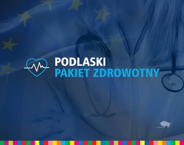 Podlaski Pakiet Zdrowotny, czyli 56 mln zł dla tych, którzy walczą z pandemią