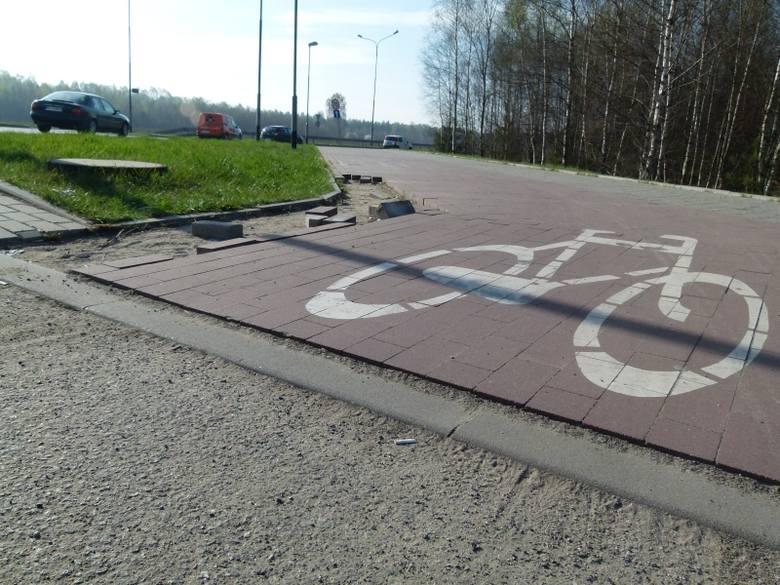 Kradną... drogi rowerowe i chodniki [zdjęcia]