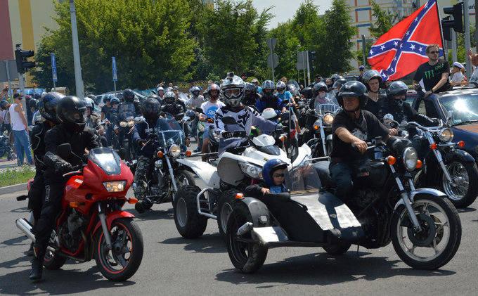 Setki motocykli na zlocie w Inowrocławiu