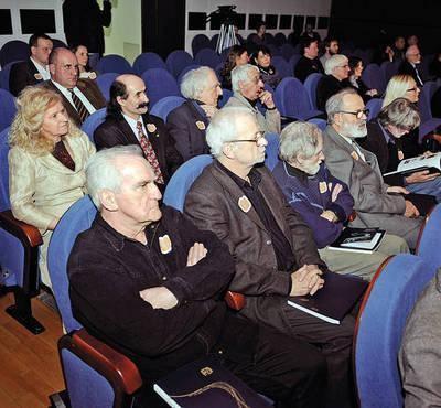 Członkowie Oddziału Krakowskiego ZPAP Fot. Wacław Klag