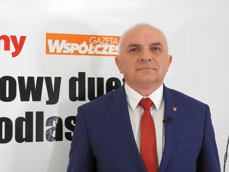 Krzysztof Marcinowicz wójt Juchnowca Kościelnego