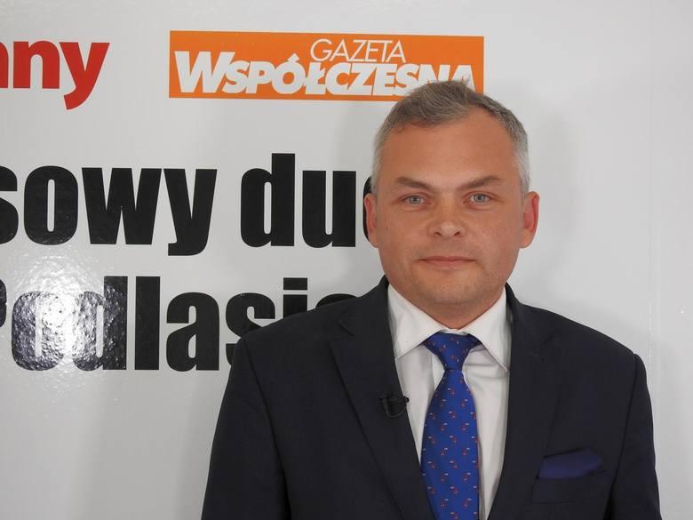Marek Skrypko - ubiegał się o stanowisko wójt gminy Juchnowiec