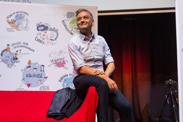 R. Biedroń: Klasa polityczna potrzebuje odświeżenia