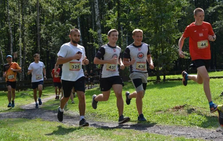 """W czwartej rundzie cyklu biegów """"VII MosirGutwinRun 2019 – Półmarton i Maraton na raty"""" wzięło udział około 300 osób. Bieg na dystansie 10 km ukończyło"""