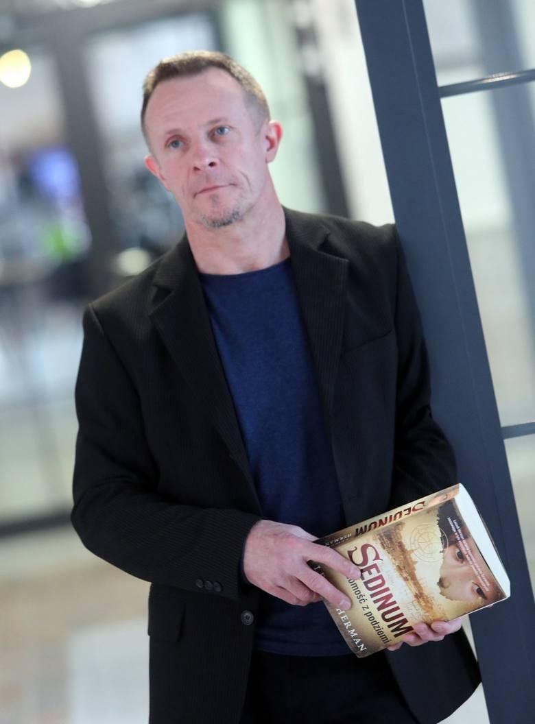"""Leszek Herman, autor """"Sedinum"""", o nowej książce. Na takich historiach świat zarabia pieniądze"""