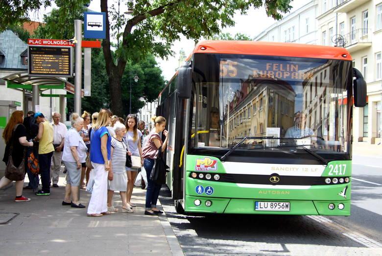 Komunikacja w Lublinie. Autobusy zmieniły rozkłady i trasy