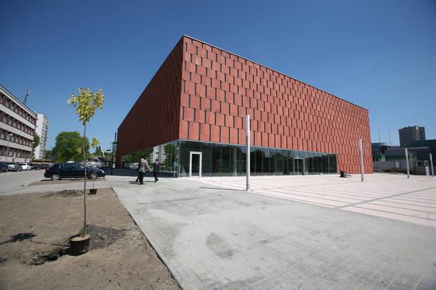 Anna Dudzińska, Dobrze zaprojektowane: CINiBA, biblioteka akademicka w Katowicach