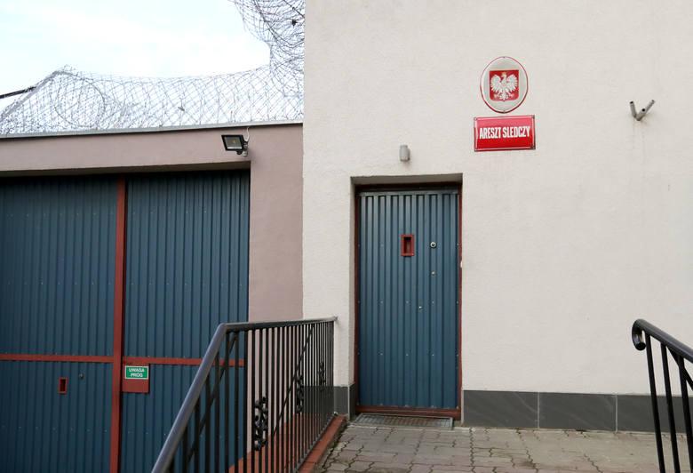 Areszt śledczy w Choszcznie.