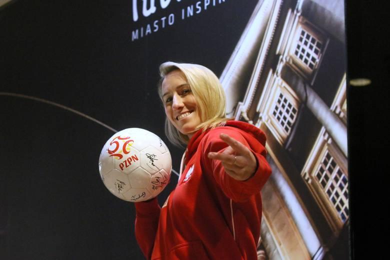 Katarzyna Kiedrzynek to również kapitan i podpora kobiecej reprezentacji Polski