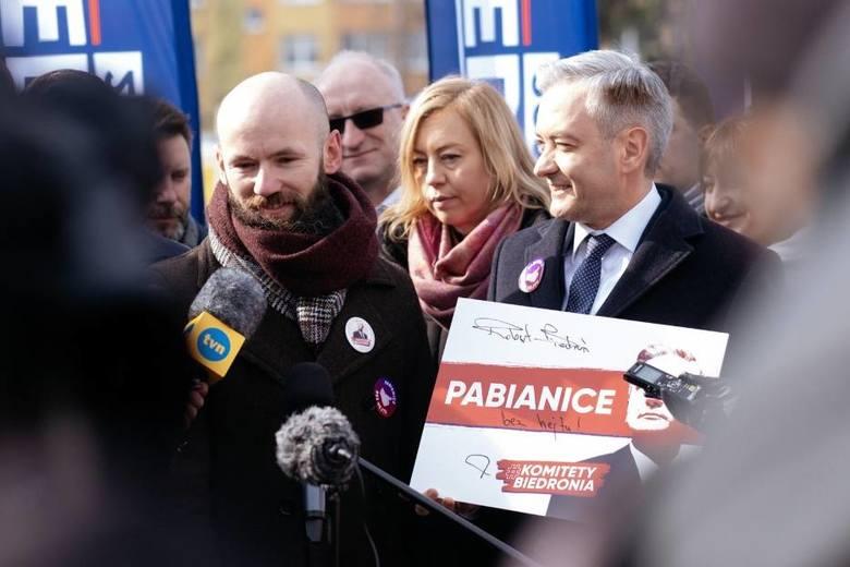 Kandydaci na prezydenta, którzy byli w Pabianicach ZDJĘCIA