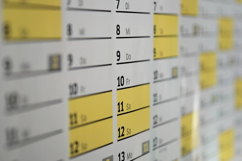 W 2019 roku będzie siedem okazji, aby biorąc tylko dwa dni urlopu, mieć ponad tydzień wolnego. Odpowiednio planując urlop możemy  w ciągu roku nazbierać