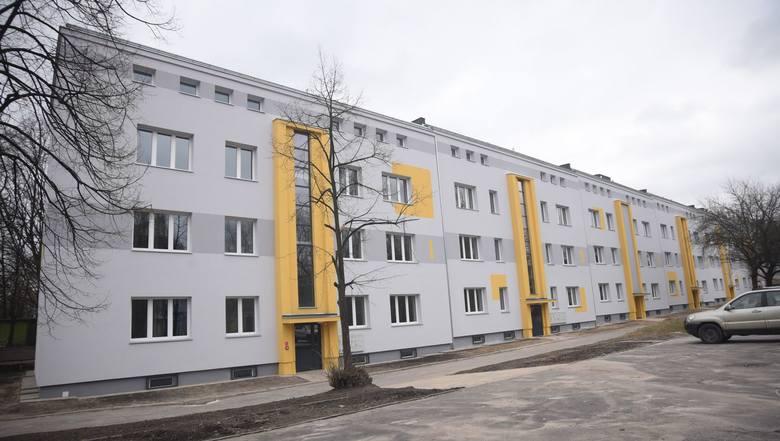 Nowe mieszkania socjalne w Łodzi
