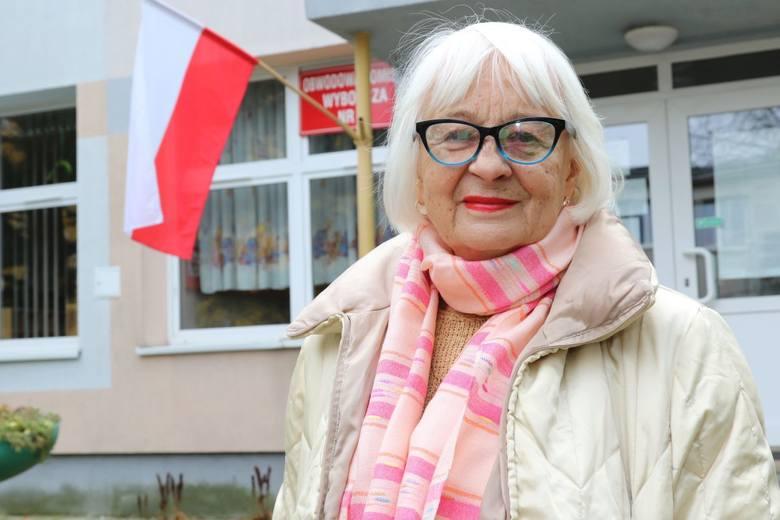 Była olimpijka, lekkoatletka Mirosława Sarna głosowała w Obwodowej Komisji Wyborczej numer 55, przy ulicy Chopina w Kielcach. Startowała w sprincie,