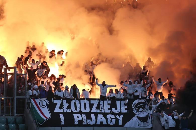 Rekord sezonu jeśli chodzi o ekstraklasę. W niedzielę kibice Legii Warszawa w liczbie 3421 wypełnili sektor gości podczas spotkania ze Śląskiem we Wrocławiu