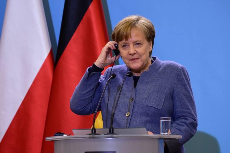 """Macron """"poparłby"""" Merkel na stanowisko szefa Komisji Europejskiej"""