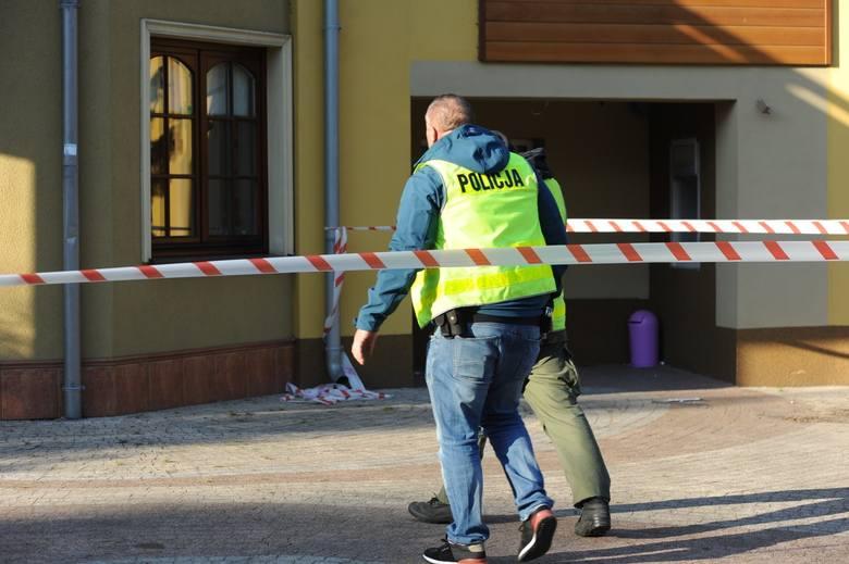 W nocy ze środy na czwartek w ośrodku wypoczynkowym przy ul. Starkowskiej w Boszkowie nieznani sprawcy wysadzili bankomat i ukradli znajdujące się w