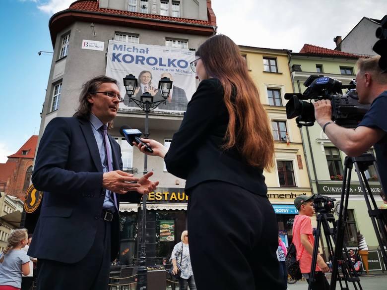 Coraz bliżej finiszu czyli niedzielnych wyborów do Parlamentu Europejskiego. W środę (22 maja) swoją kampanię podsumował Michał Korolko, który konferencję