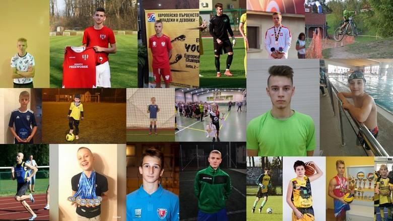 Stan głosowania z 01.12.2019 r., z 13:30 godz. - Liderzy w kategorii  Sportowiec Roku Junior - chłopcy