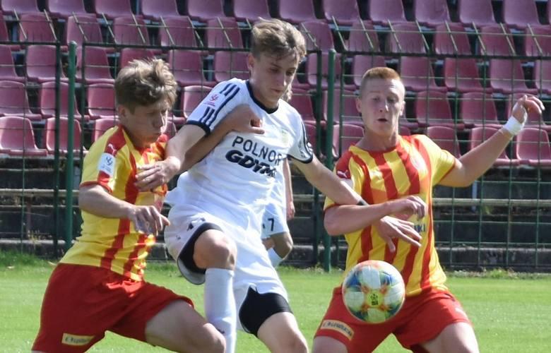 W meczu Centralnej Ligi Juniorów do 18 lat Korona Kielce przegrała na własnym stadionie z Arką Gdynia 1:2. Drużyna prowadzona przez Pawła Czaję doznała