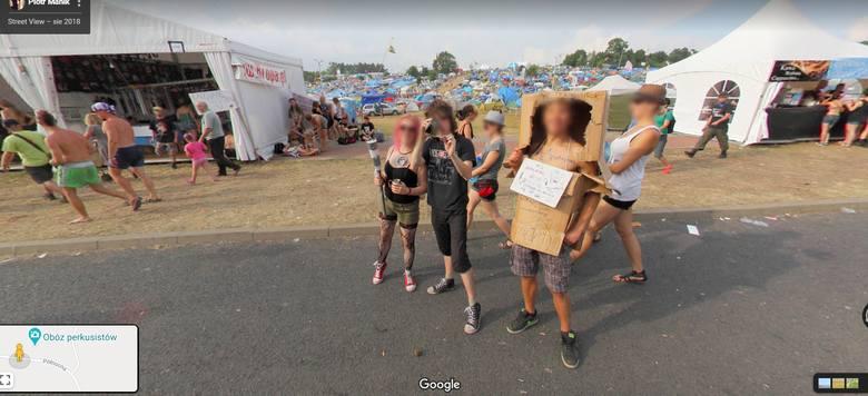 Kamera Google Street View w 2018 roku odwiedziła również Pol'and'Rock! Obiektyw złapał festiwalowiczów w najróżniejszych sytuacjach. Zobaczcie sami!