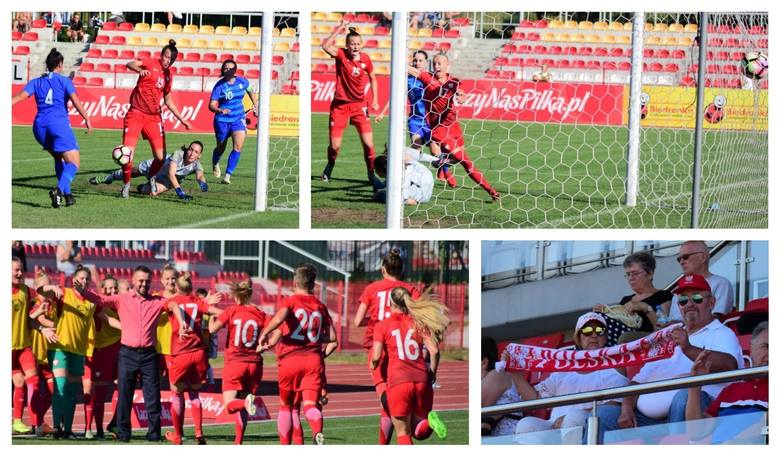 Piękny mecz rozegrała dziś w Inowrocławiu reprezentacja Polski kobiet do lat 19. Polki zwyciężyły z Greczynkami aż 6:0.Gole dla polskiej reprezentacji
