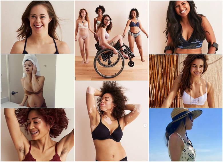 PIĘKNO BEZ RETUSZU niezależne od rozmiaru. Wyjątkowe modelki w kampanii reklamowej bielizny bez Photoshopa. Zobacz NIESAMOWITE ZDJĘCIA