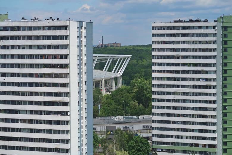 Widok z bloków osiedla tysiąclecia katowice tauzen 02.06.2020 fot. karina trojok / dziennik zachodni / polska press