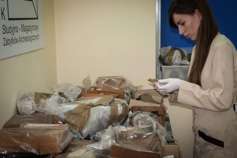 Zabytki archeologiczne z Lubiąża trafiły do Głogowa