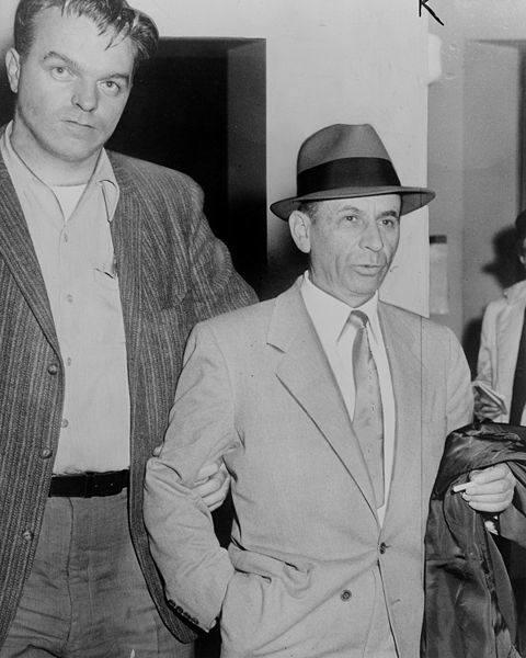 Meyer Suchowliński vel Meyer Lansky w 1958 roku