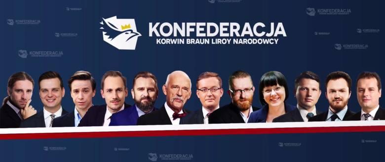 Konfederacja KORWiN, Liroy, Braun, Narodowcy. Zaprezentowano nazwę i logo. Znamy szczegóły