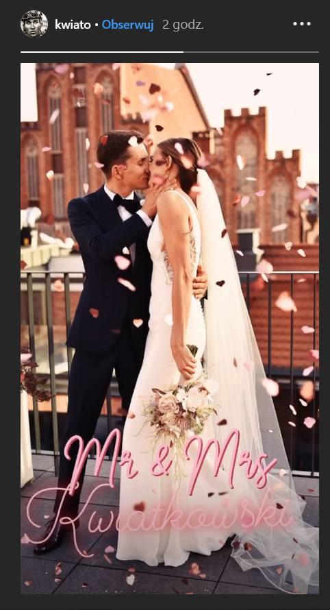 Michał Kwiatkowski wziął ślub! Zobaczcie zdjęcia słynnego kolarza i panny młodej!