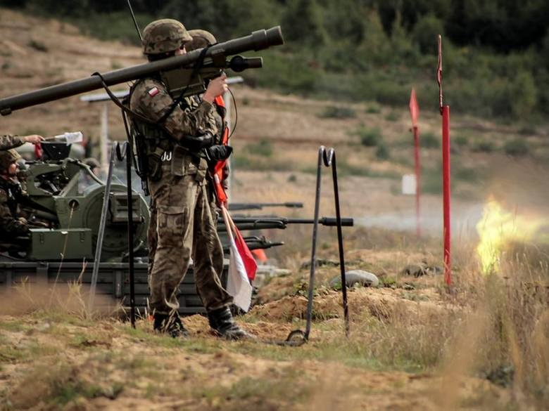 Żołnierze z Międzyrzecza strzelali z rakiet Grom i armat ZU-23-2.