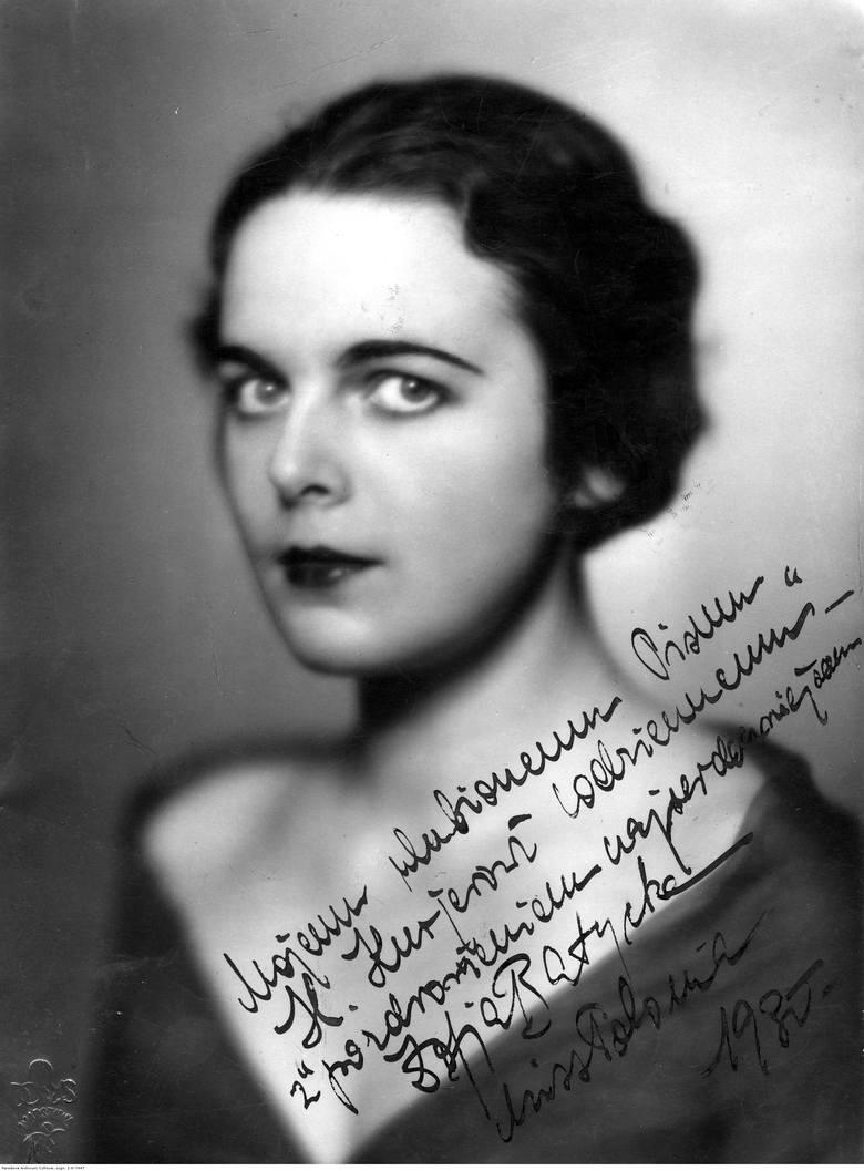Zofia Batycka, Miss Polonia 1930, aktorka.