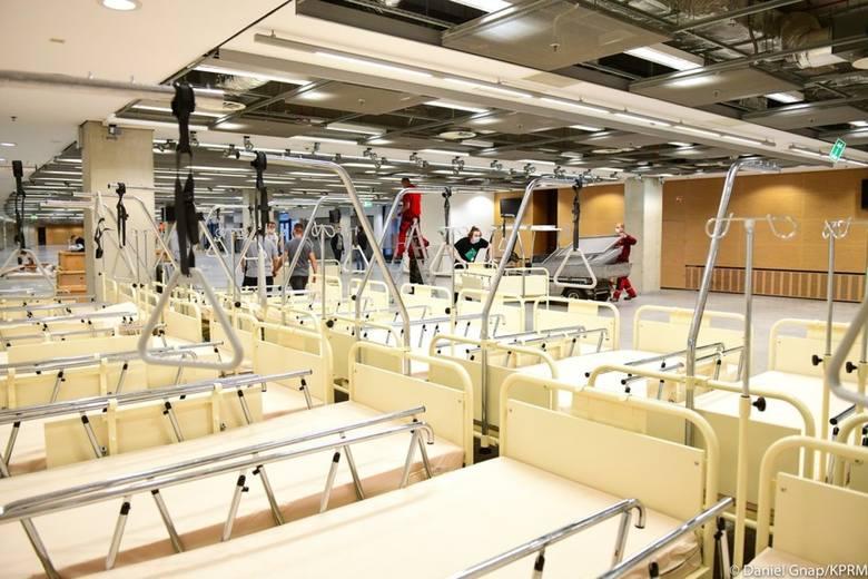Szpital Narodowy. Warszawa: Na Stadionie Narodowym powstaje tymczasowa placówka, która przyjmie zarażonych koronawirusem