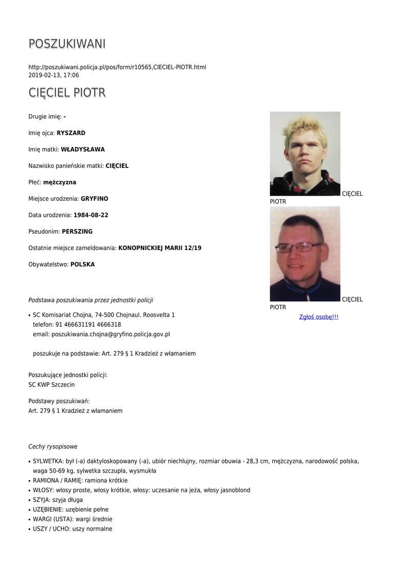 Oto lista mężczyzn, którzy są poszukiwani przez Komendę Wojewódzką Policji w Szczecinie. Materiał przygotowany na podstawie strony poszukiwani.polic