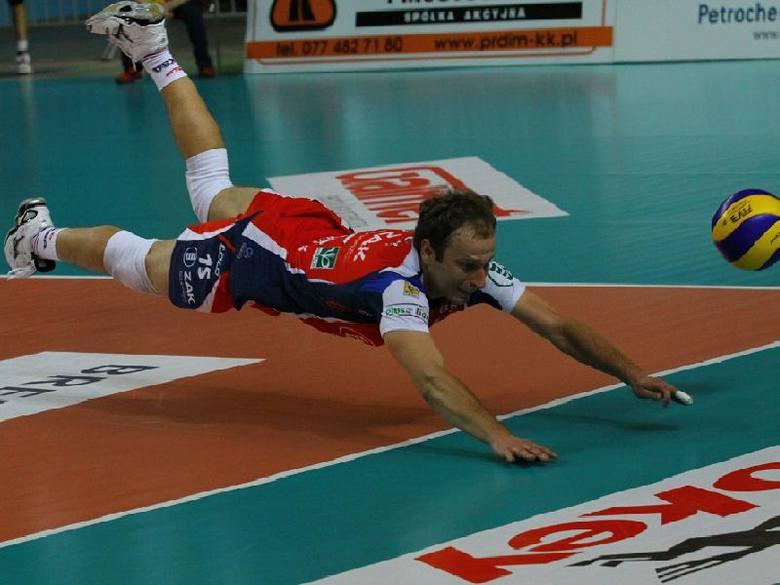 Piotr Gacek, libero Zaksy.