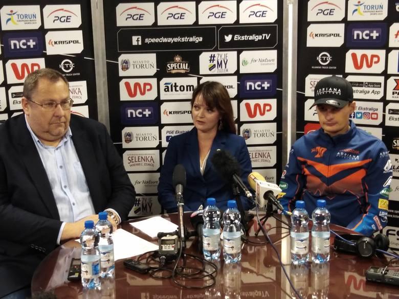 Zawodnikiem, który parafował umowę na starty w 2020 roku, jest Adrian Miedziński. Toruński klub już wcześniej informował, że doszedł do porozumienia