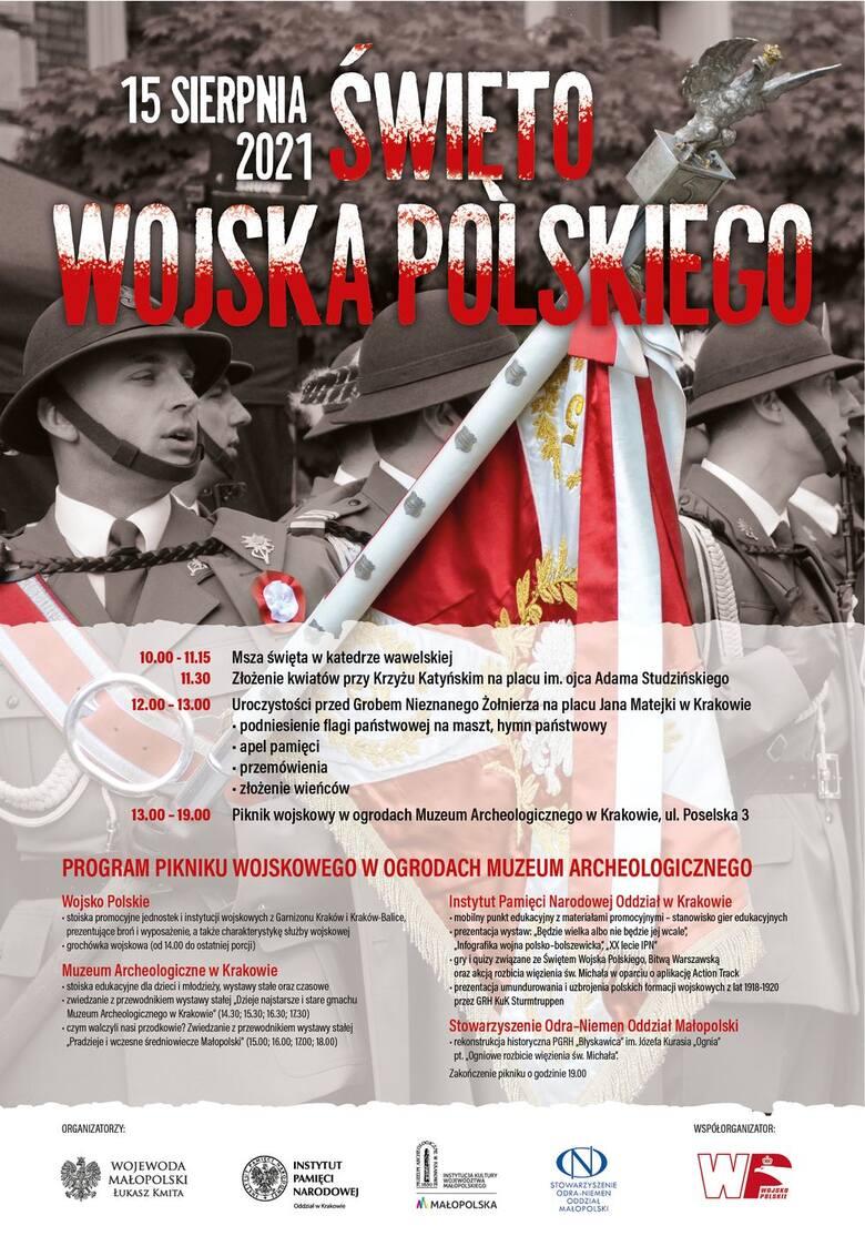 W niedzielę Święto Wojska Polskiego. Plan krakowskich obchodów