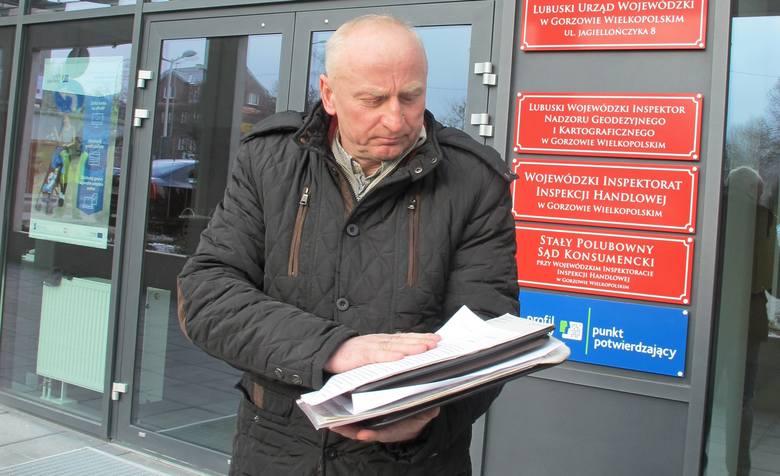 Andrzej Pilczyk nie wini urzędników LUW za  to, że na 25 lat utknęła gdzieś sprawa jego rodziny o odszkodowanie.