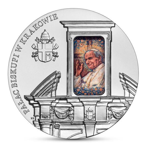 """Srebrna """"pięćdziesiątka"""" z """"Pałacem Biskupim w Krakowie"""" została wyemitowana w nakładzie do 6000 sztuk"""