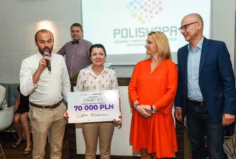Smart55, WoshWosh i Wavy zwyciężyły w konkursie start.up.press organizowanym przez Grupę Polska Press. Laureatów poznaliśmy 4 czerwca podczas gali finałowej
