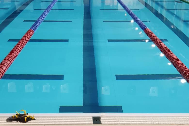 Na zdjęciu: basen