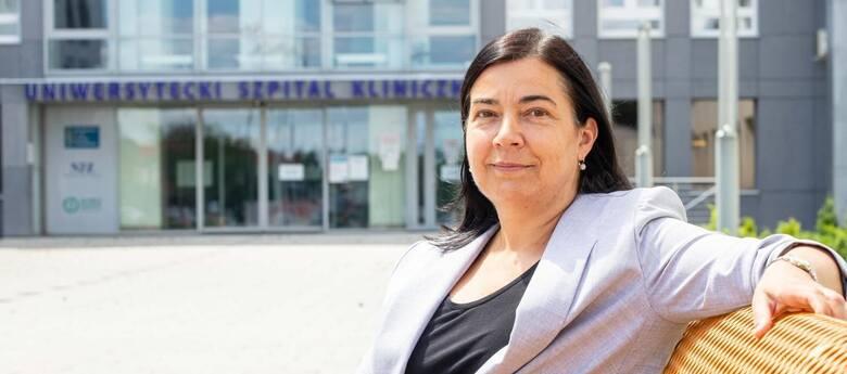 Prof. Otylia Kowal-Bielecka, kierownik Kliniki Reumatologii UMB.