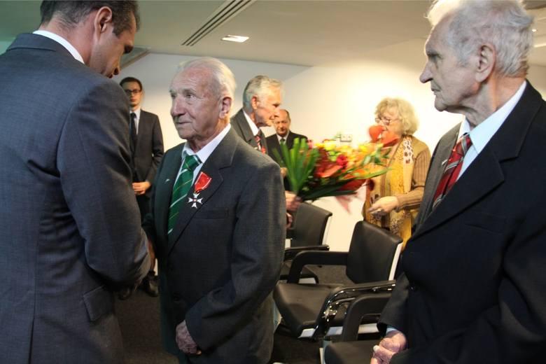 Odznaczenia Prezydenta RP dla Romana Rogocza