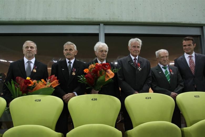 Odznaczenia Prezydenta RP dla zasłużonych piłkarzy Lechii
