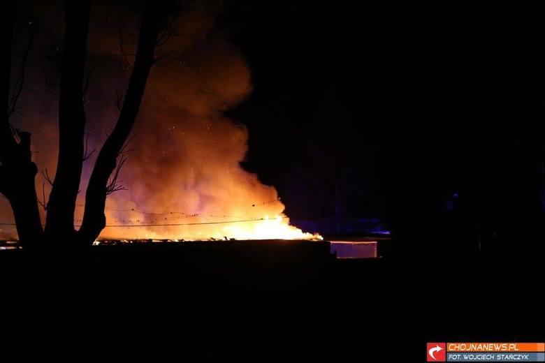 Kolejny pożar na targowisku w Osinowie Dolnym