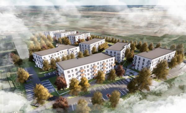 """Dopiero na przełomie roku 2019/2020 rozpocznie się budowa osiedla, które ma powstać w lewobrzeżnej części miasta. Chodzi o program """"Mieszkanie plus"""","""